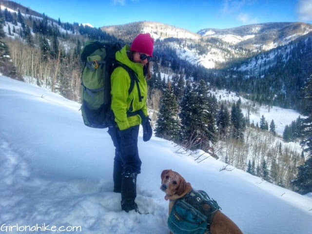 What to Wear while Hiking in Winter - For Women!