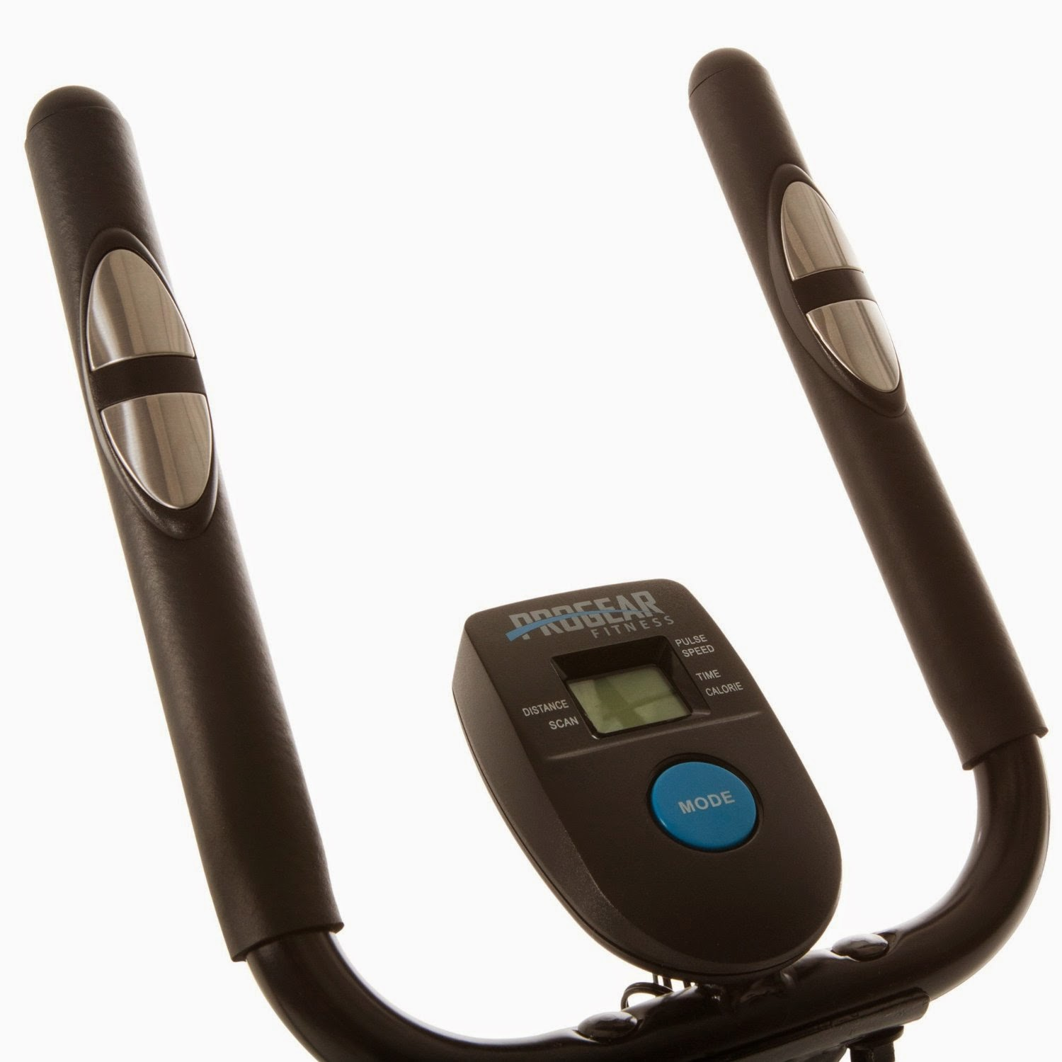 ProGear 400LS LCD computer display  & pulse heart rate sensors in handlebars