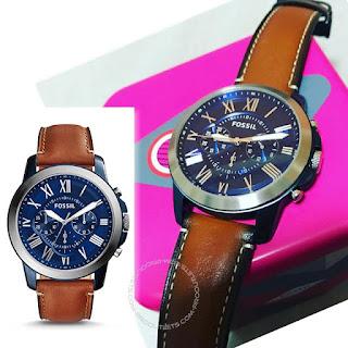 jam tangan fossil asli
