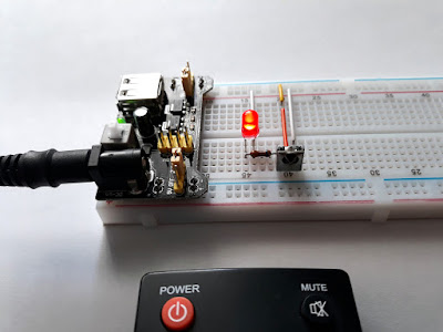 Dispozitiv simplu pentru verificarea funcționării telecomenzilor