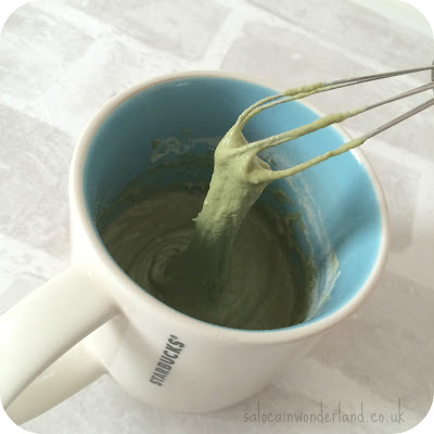 easy matcha mug cake
