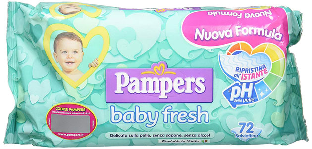 clicca qui per candidarti come tester dell salviettine Pampers Baby Fresh