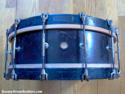 Charles A. Stromberg Orchestra Drum - Before Full Restoration