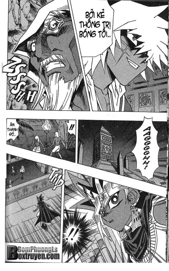 YUGI-OH! chap 299 - cuộc tấn công vào cung điện trang 8