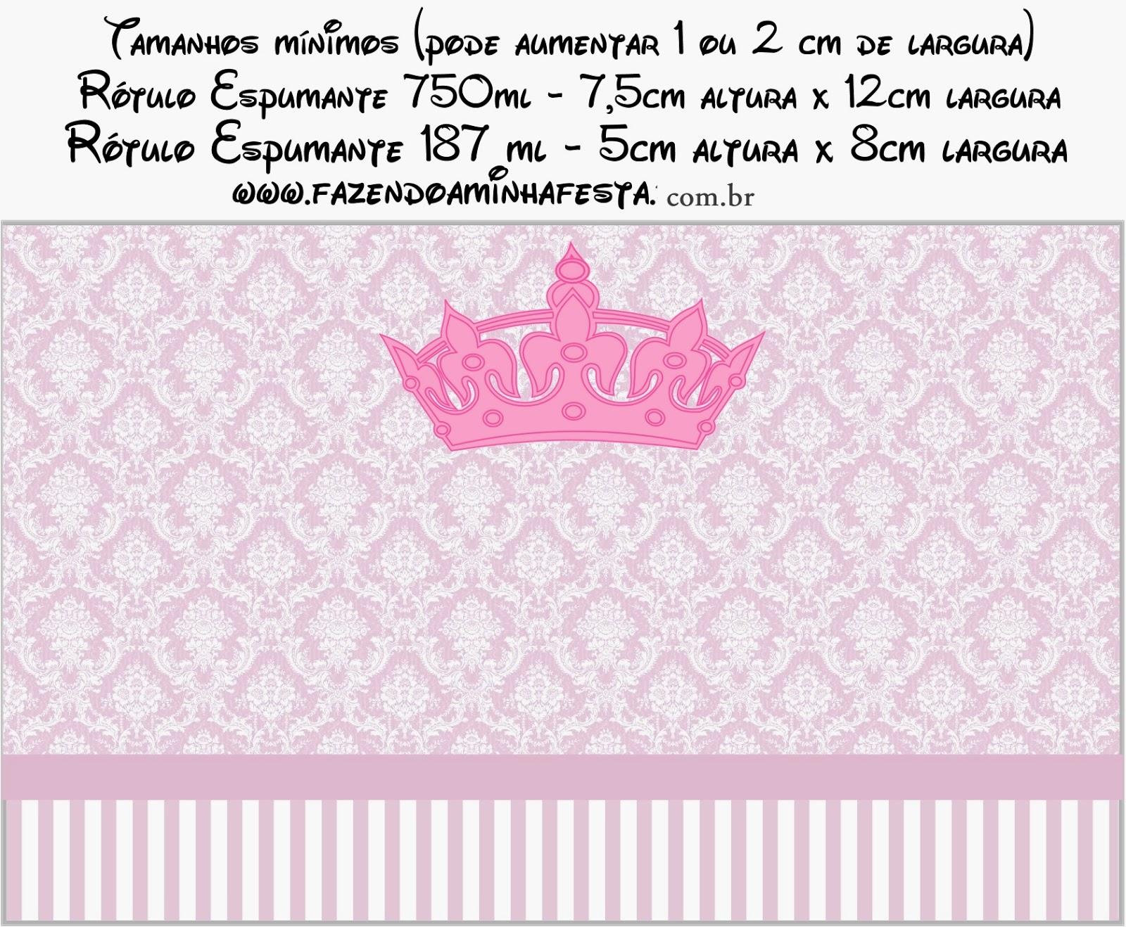 Princesa: Etiquetas para Candy Bar para Imprimir Gratis.   Ideas y ...