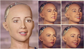 A robot who once said she would 'destroy humans' just became the first robot citizen