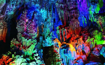 The Fascinating Reed Flute Cave of Guilin China