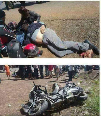 Photo: Chris Bolado Accident in Cambodia