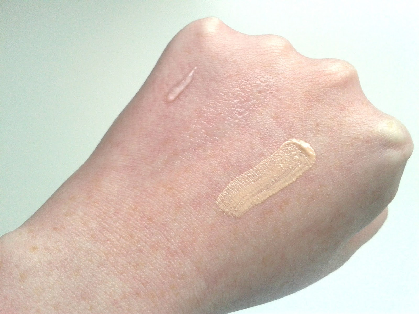 Beauty UK Prime FX Primers Review Foundation Eye Shadow primer swatches