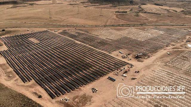 El mayor parque solar de Europa está en Zaragoza
