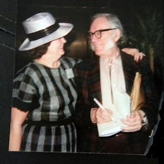 Jan Grape and Isaac Asimov