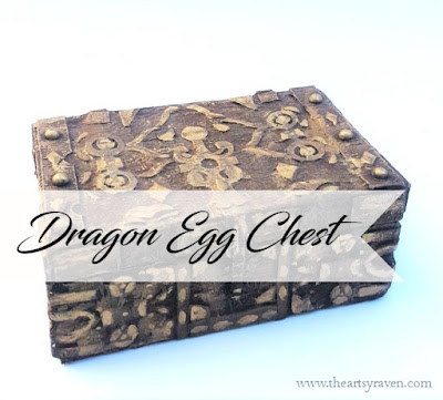 Game of Thrones Dragon Egg Chest by TheArtsyRaven