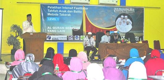 Wako Mahyeldi Apresiasi Pelatihan Intensif Fasilitator Tahfiz Anak dan Balita