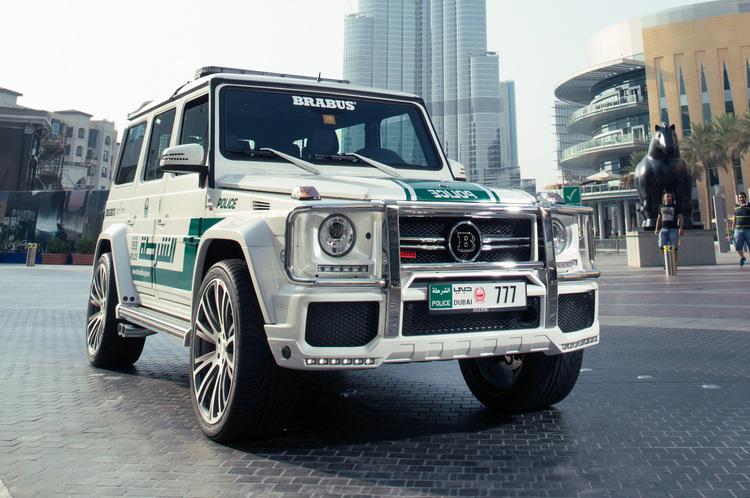 gclass Τα 10 ακριβότερα περιπολικά στο Ντουμπάι