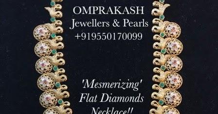 68b7590e287 Bottu Mala from Om Prakash Jewellers - Jewellery Designs
