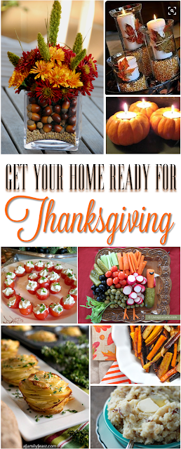 Simple, Beautiful Ways to Prepare for Thanksgiving in your home!