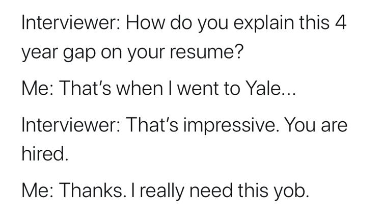I Really Need This Yob - The Humor Train