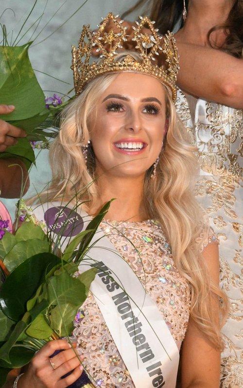 Miss Northern Ireland 2018 winner Katharine Walker
