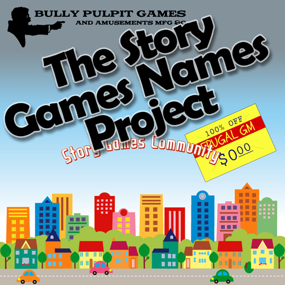Free GM Resource: The Story Games Names Project