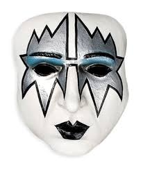 Lena lednicka kiss spaceman makeup tutorial for Kiss mask template