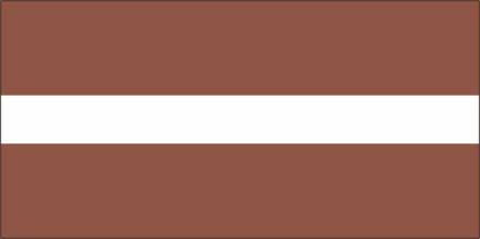 Bandeira da Letônia