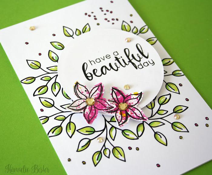 Altenew Doodle blooms