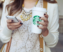 Starbucks Coffee Icons Cute