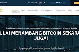 Review : Situs Cloud Mining Bitcoin Aman dan Terpercaya 2018