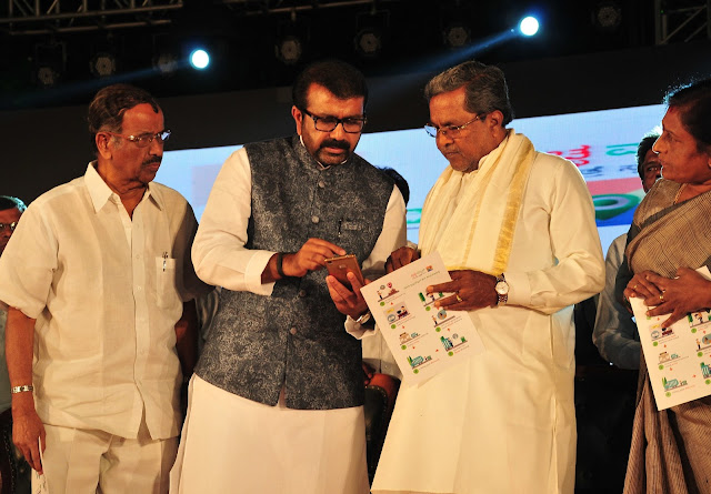 CM Siddaramaiah felicitates Women Achievers at 'Women's Day' event organized by N A Haris Foundation