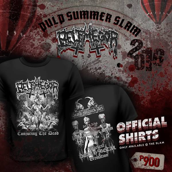 c876c29348e1 GET OFFICIAL BELPHEGOR MERCHANDISE AT PULP SUMMER SLAM! Limited edition  items such as girlies