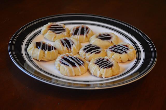 Almond Raspberry Thumbprints
