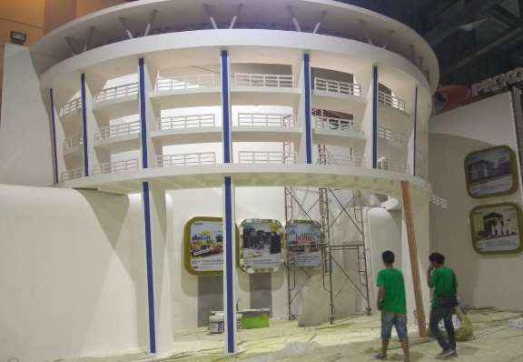 Ini Dia Suasana Venue Lokasi Pameran Pesta KPR BTN sept IPEX 2018