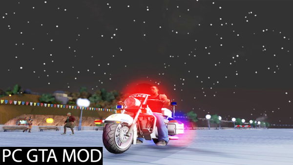 Free Download  GTA TBoGT Police Bike  Mod for GTA San Andreas.