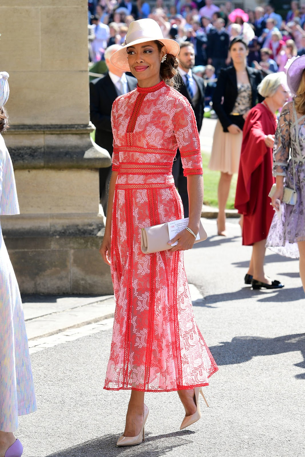 Los estilismos de los invitados a la boda real del Príncipe Harry y ...