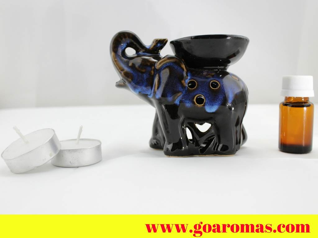 Decorative elephant aroma diffuser goaromas aroma for Decorative diffuser