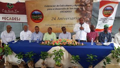Cafetaleros de San Juan inauguran un vivero