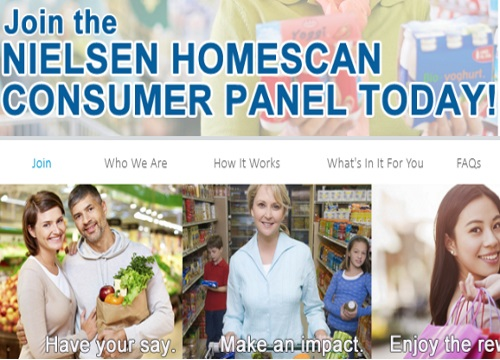 Nielsen Homescan Survey Panel Shop, Scan & Win