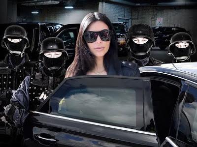 You could end up dead - Kim Kardashian warns bandits