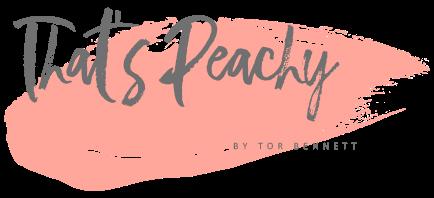 Thats Peachy Award Winning North East Uk Fashion Lifestyle Beauty Blog