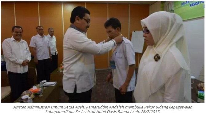 Asisten Administrasi Umum Sekda Aceh
