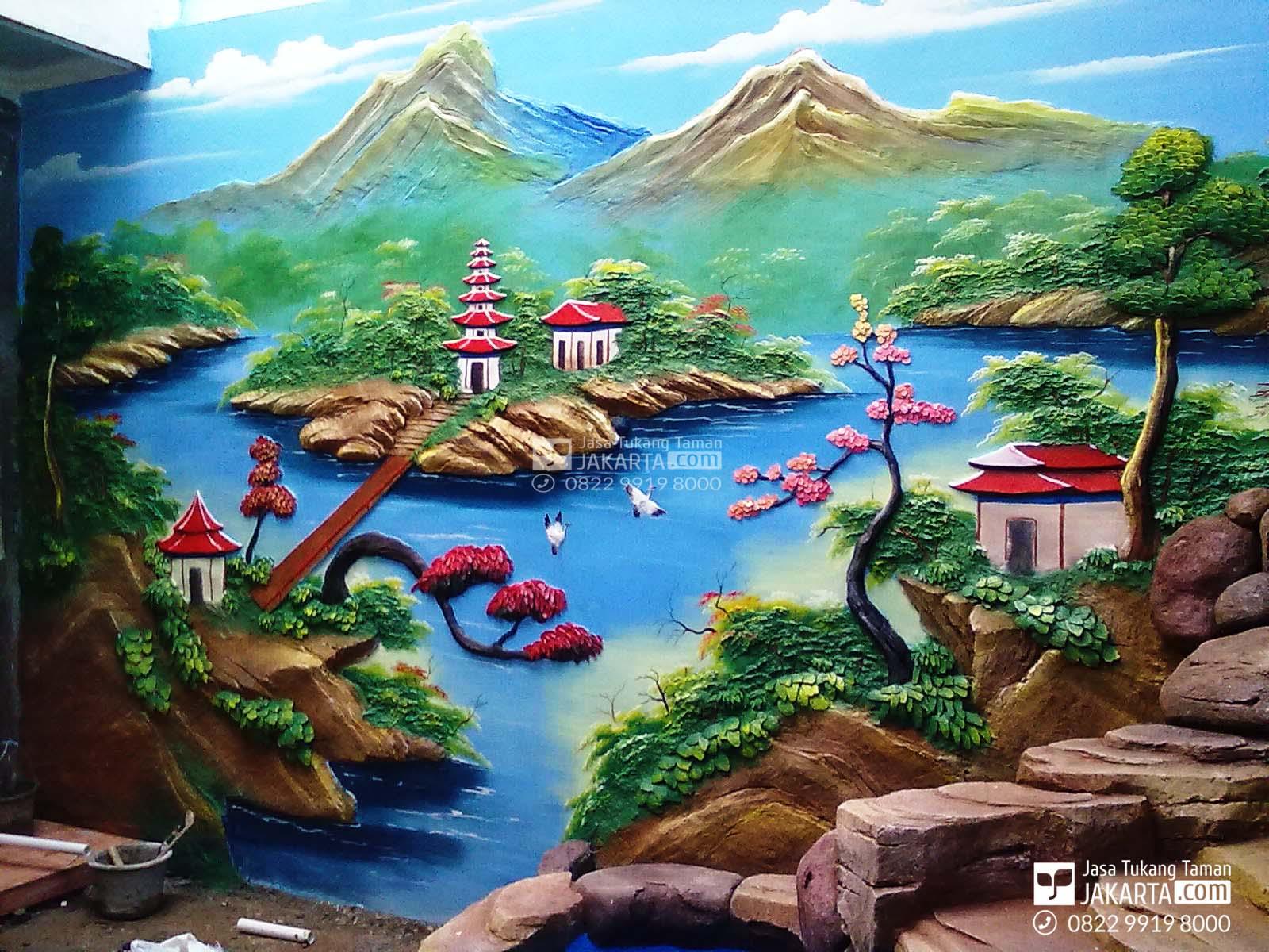 Jasa Taman Relif Tangerang