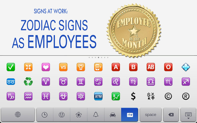 Zodiac Signs as Employees « RICH PINAY