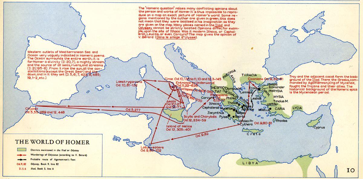 Ovid's Metamorphoses Mapping Jason Odysseus Aeneas