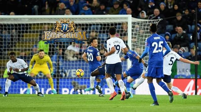 Leicester Berhasil Menahan Laju Tottenham Di King Power Stadium.