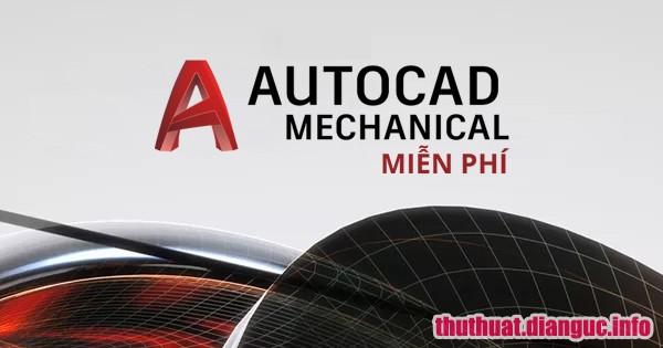 tie-smallTổng hợp phần mềm AutoCAD Mechanical tất cả các phiên bản full activate