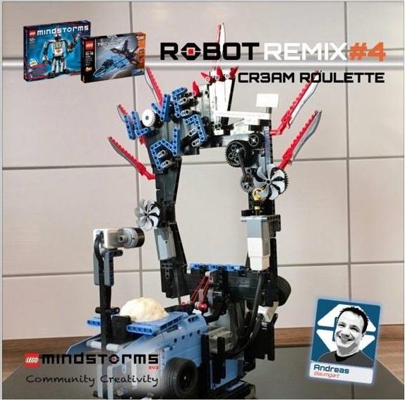 Cr3am Roulette An EV3 game - Robot Remix #4   The NXT STEP is EV3