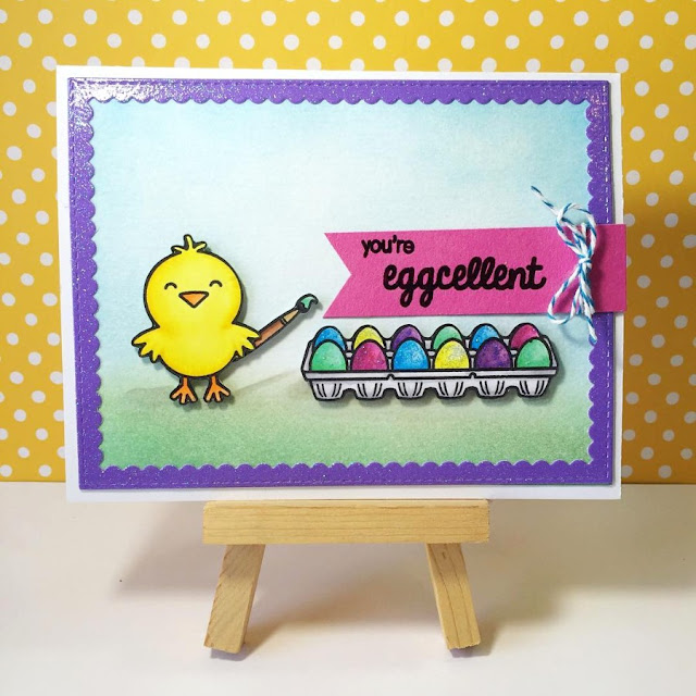 Sunny Studio Stamps: A Good Egg Easter Card by Jenny B.