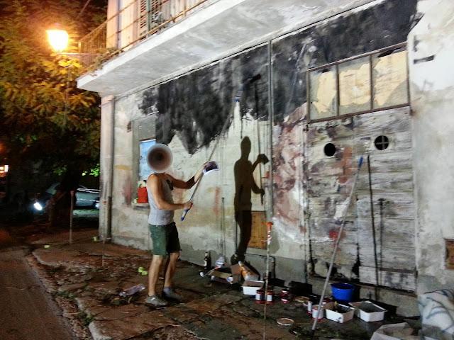 Spanish Street Artist Borondo Newest Mural For Visione Periferica Urban Art  Event In Italy. 2