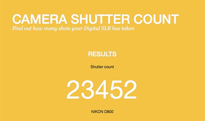 Apa Itu Shutter Count Dan Bagaimana Cara Mengeceknya