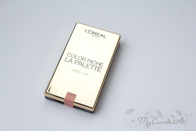 La Palette de Color Riche de L'Oreal: paleta de labiales